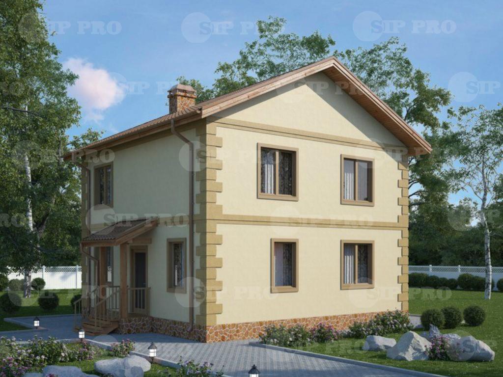 Проект дома из сип Н2-139/1