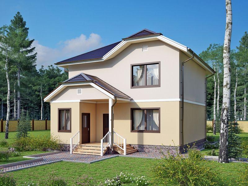Проект дома из сип Н2-156/1