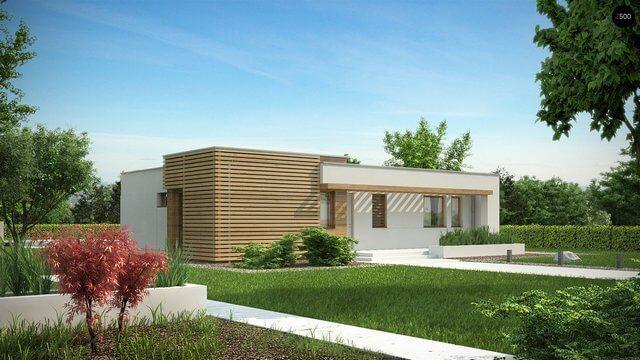 Проект дома из сип Н1-107