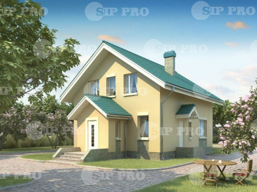 Проект дома из сип Н2- 130