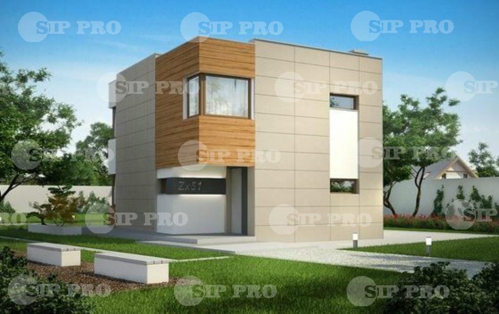 Проект дома из сип Н2-132