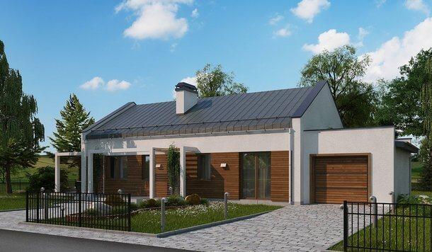 Проект дома из сип Н1- 138
