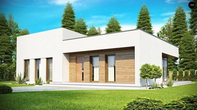 Проект дома из сип Н1- 148
