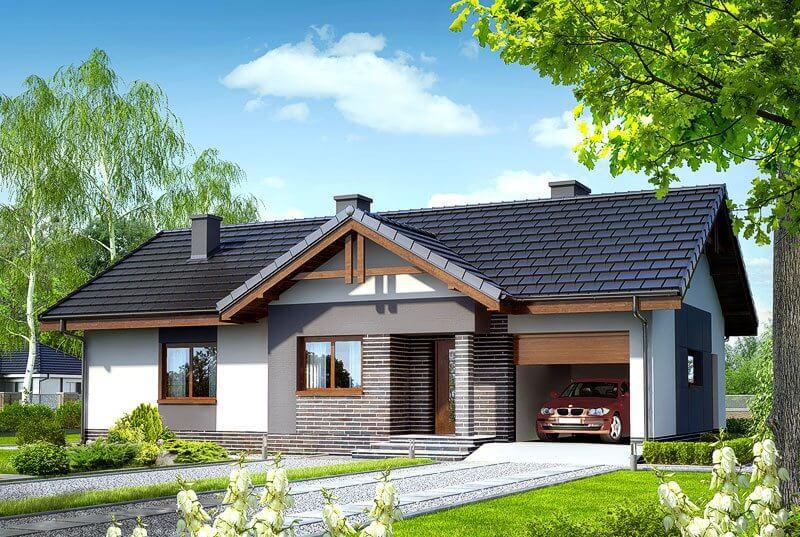 Проект дома из сип Н1- 150