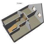 Проект дома из сип Н2- 147