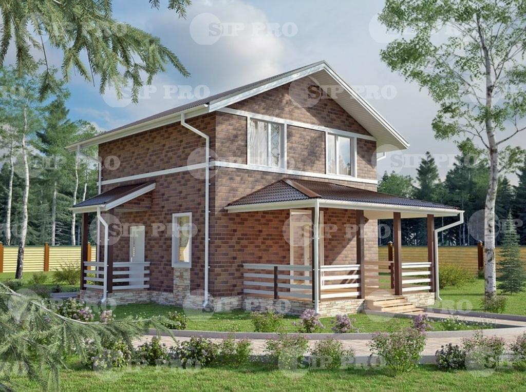 Проект дома из сип Н2-128