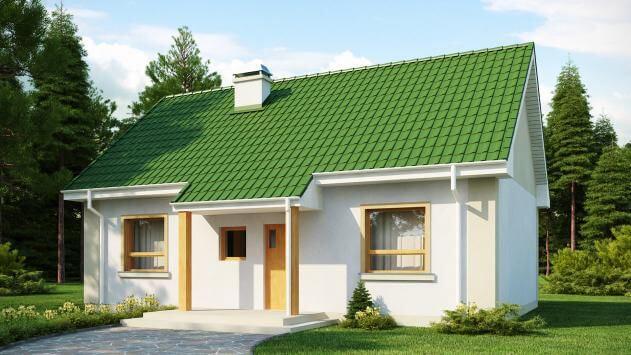 Проект дома из сип Н1- 94 м2