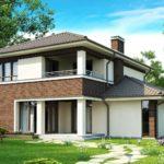 Проект дома из сип Н2- 206/1