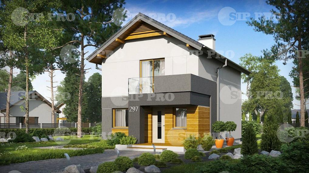 Проект дома из сип Н2- 116
