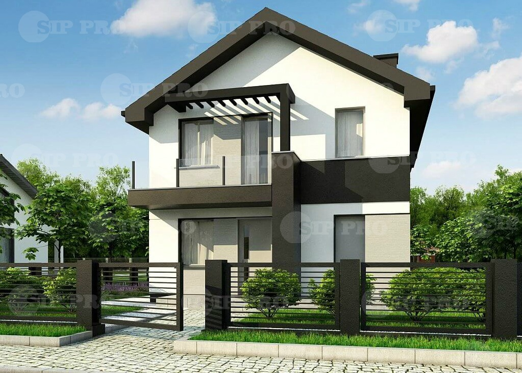 Проект дома из сип Н2- 140