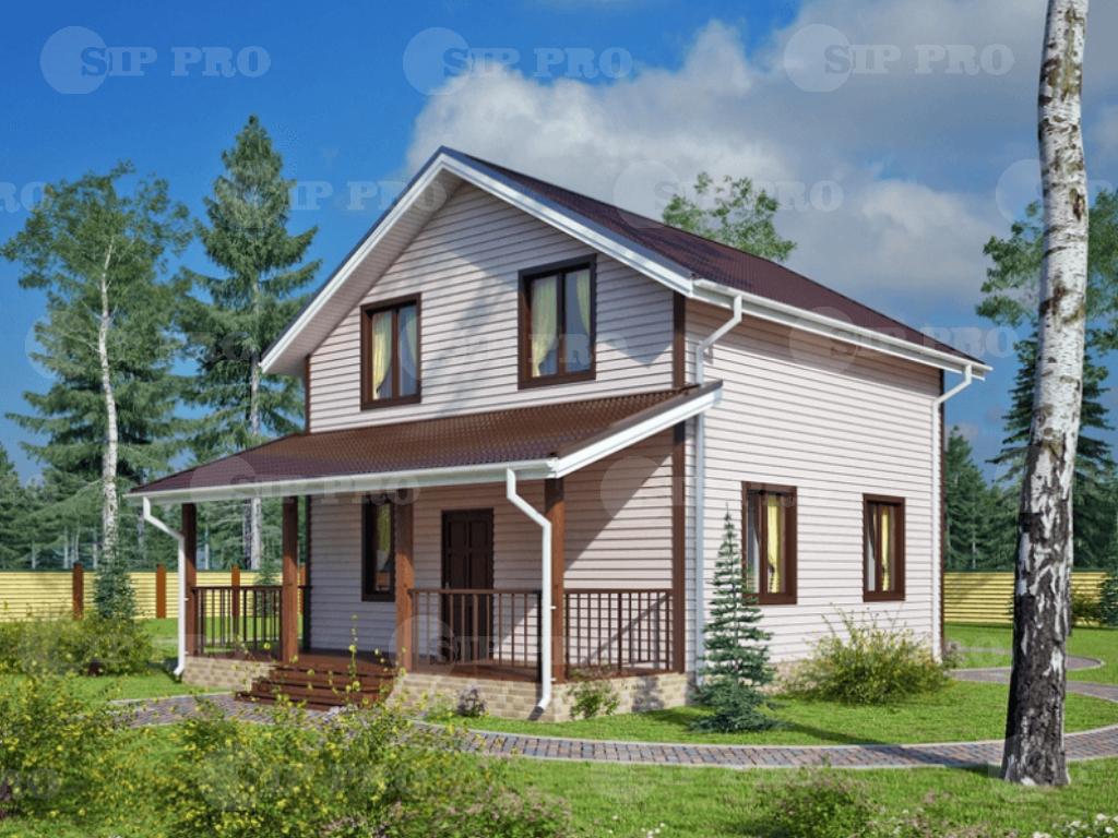 Проект дома из сип Н2-130/1