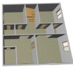 Проект гостиница из сип Н2- 200 м2