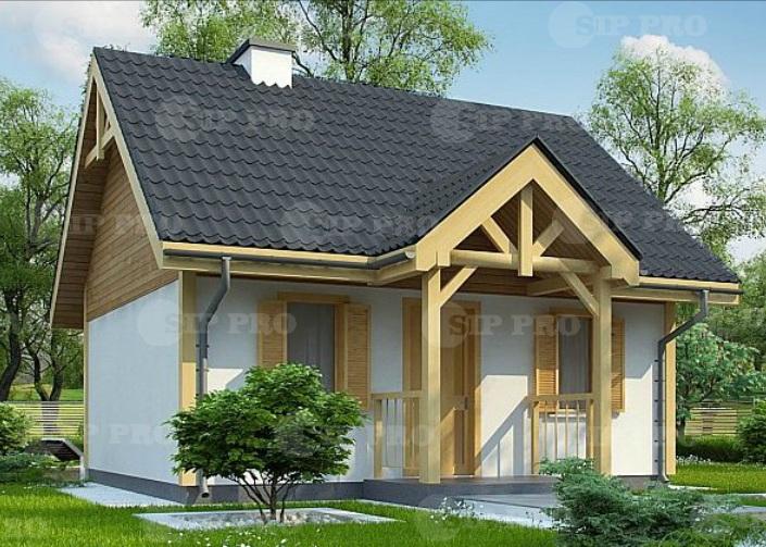 Проект дома из сип Н2-87