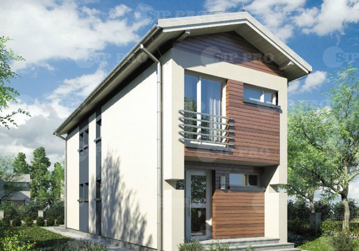 Проект дома из сип Н2-100 м2