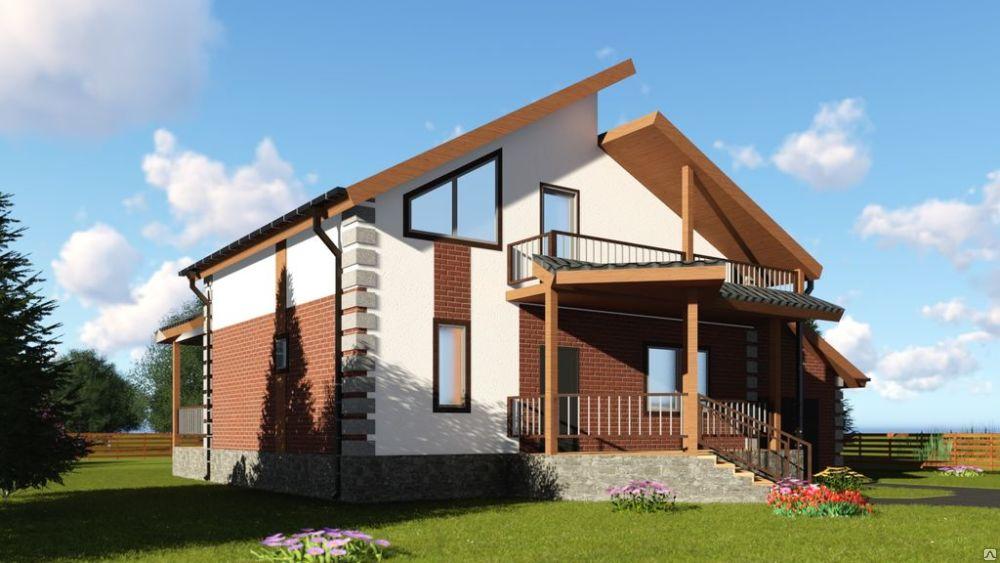 Жилой дом из СИП панелей