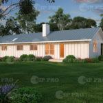 Проект дома из сип Н1-149 м2