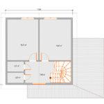 Проект дома из сип Н2-123
